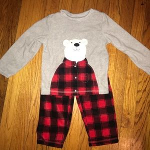 Just one you by Carter's flannel pj's - 3T